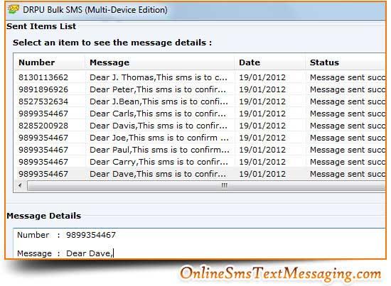 Онлайн SMS GSM